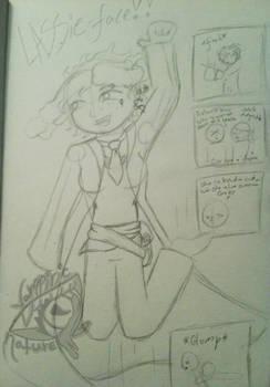 Lassie-Face -Sketch 19-