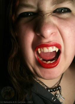 Grumpy the Vampire