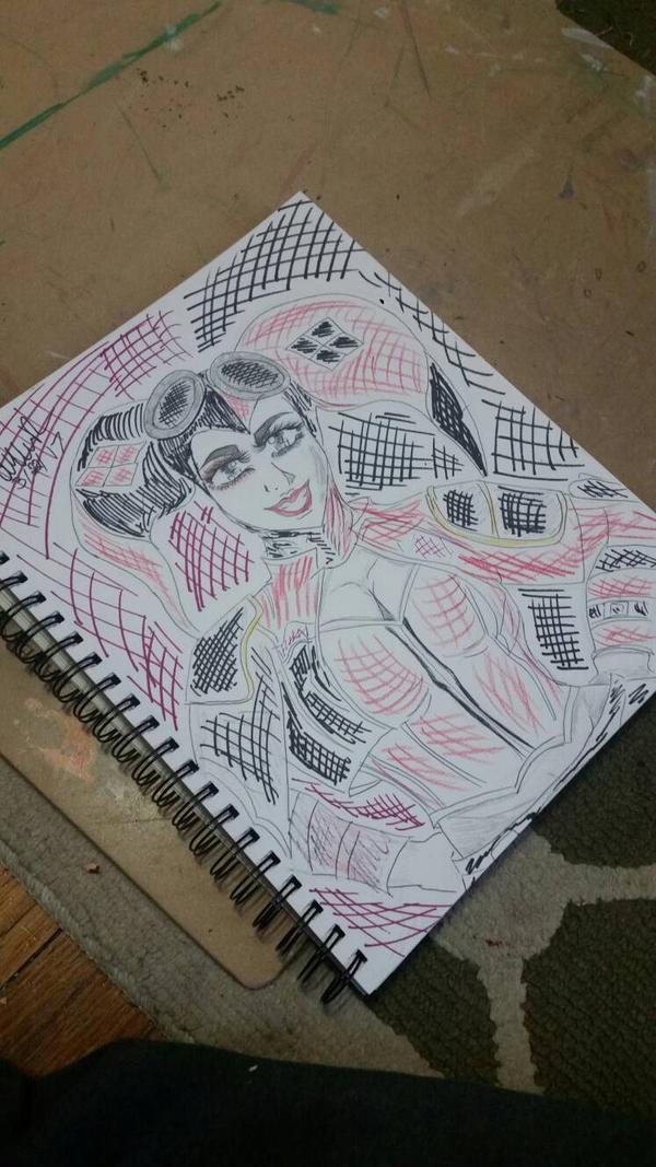 Harley Quinn  by Aphrodites-tears