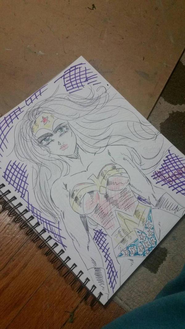wonder Woman by Aphrodites-tears