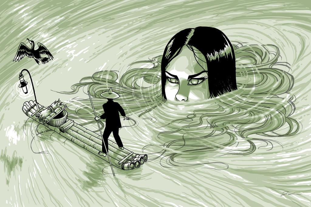 The River Woman by melaleuca