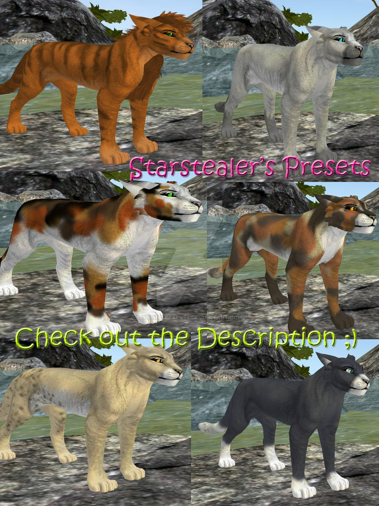 Feral Heart: FeralHeart Warriors Presets Commissions CLOSED By