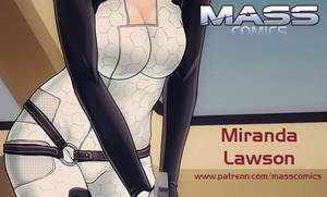 Miranda Lawson teaser! by masscomics
