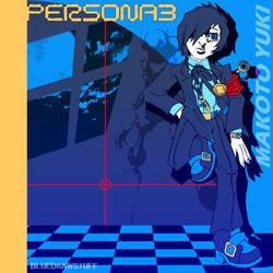 Persona 3 - Makoto Yuki by BlueDrawStuff