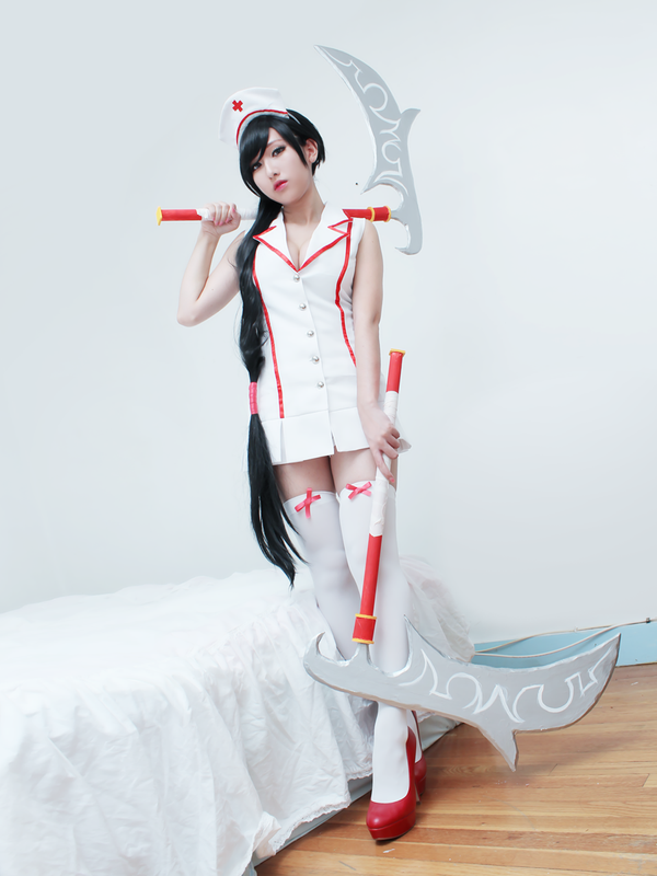 Nurse Akali 2 by RinnieRiot