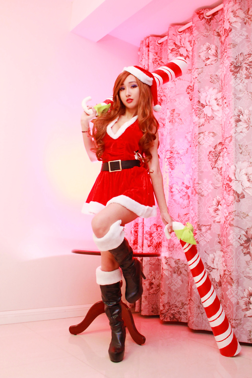 Candy Cane Miss Fortune 2 by RinnieRiot