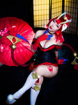 Blood Moon Evelynn Cosplay from League of Legends