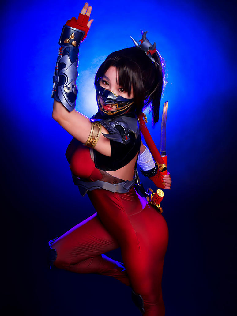 Soulcalibur: Taki cosplay by Rinnie Riot