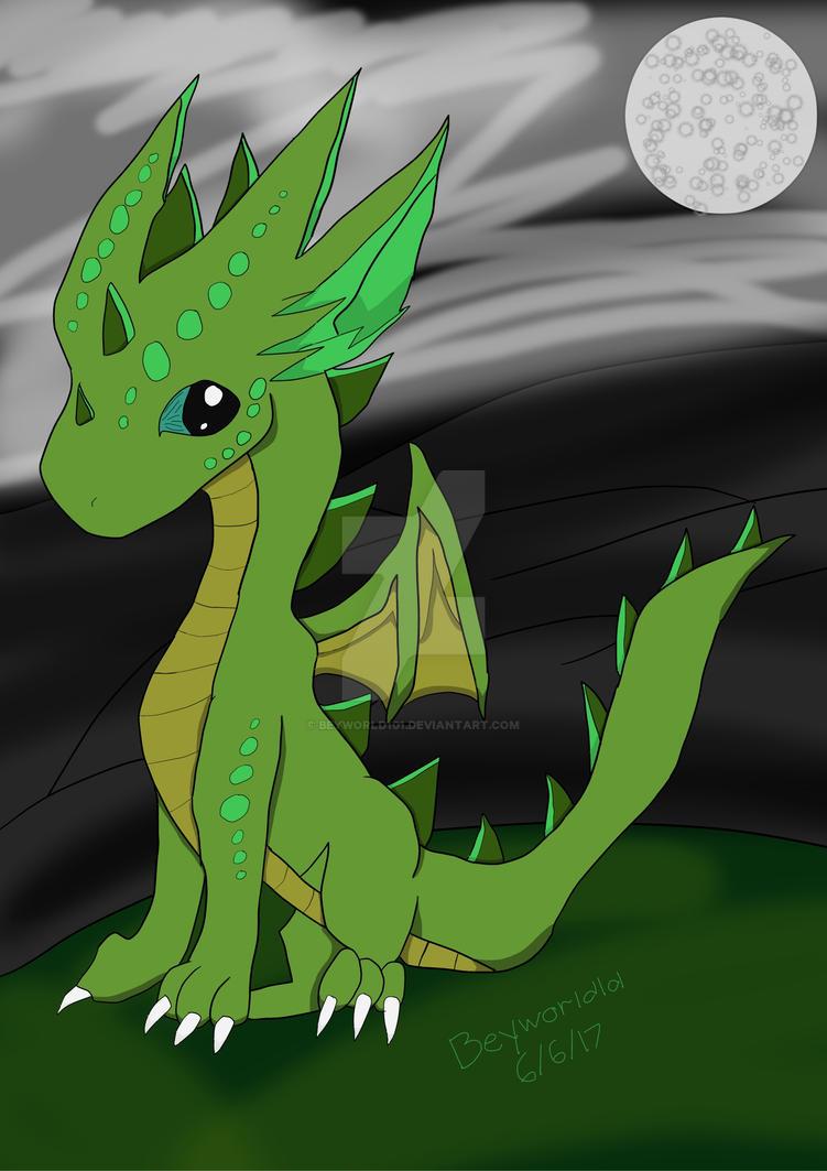Chibi Dragon by Beyworld101