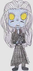 Stargate Atlantis Pop Figure-Steve The Wraith by Beyworld101