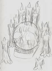 The Scarlet Skull (Sketch)