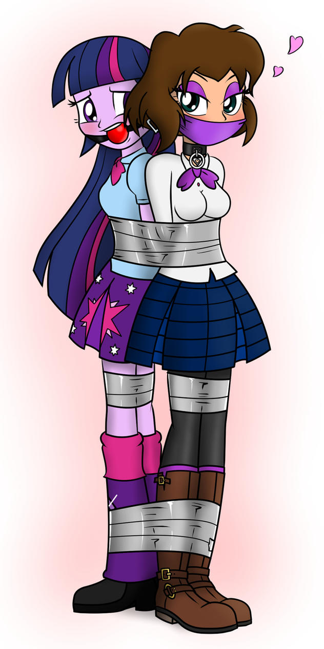 Twilight and Chloe Taped by nivek15