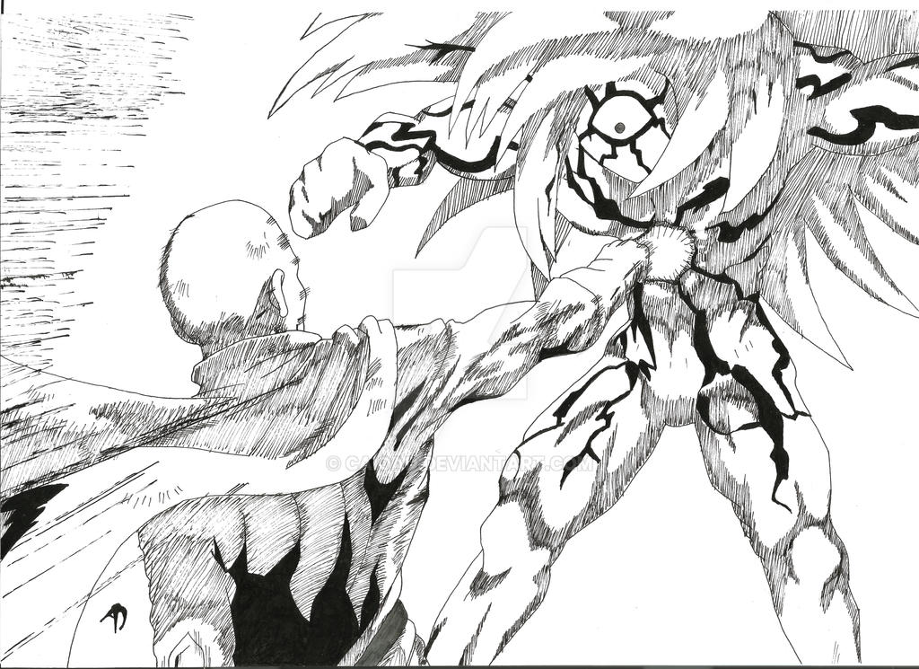 Saitama vs Boros by CaioAD on DeviantArt