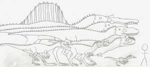 Variety of the Theropoda I