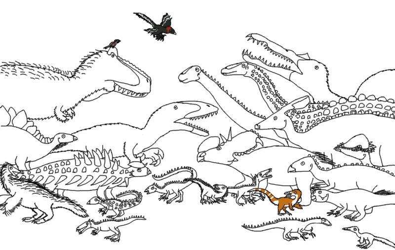 The Dinosauria by Albertonykus