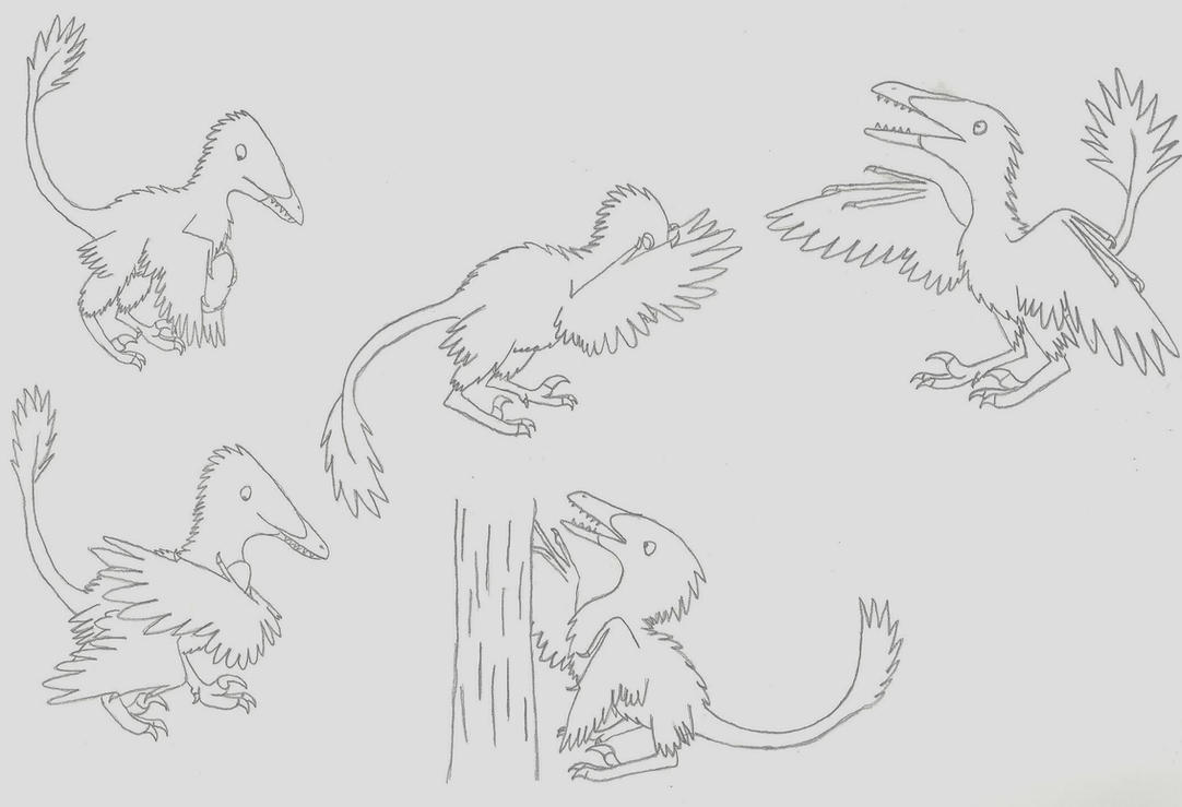 'Raptor' Hands by Albertonykus