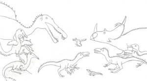 Dinosaur Highlights of 2011 by Albertonykus