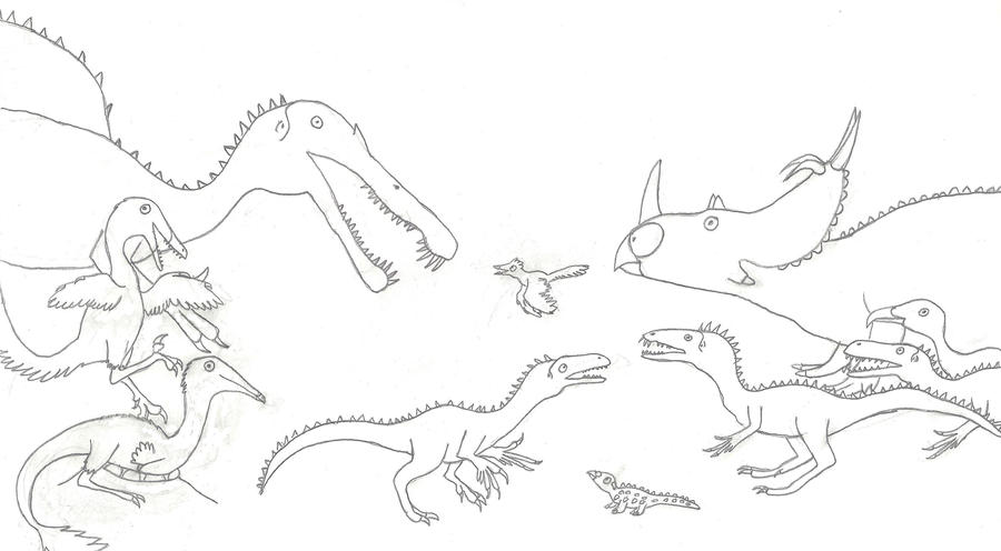 Dinosaur Highlights of 2011 by Albertonykus