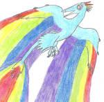 My Little Maniraptor: Rainbow Dash