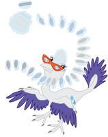 My Little Maniraptor: Rarity by Albertonykus