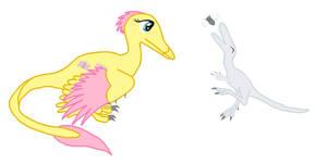 My Little Maniraptor: Fluttershy