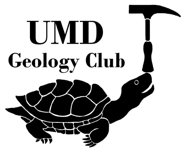 UMD Geology Club T-shirt Design