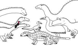 Dinosaur Highlights of 2018 by Albertonykus