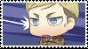 Chibi Erwin Smith Stamp by VioletsInEden