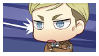 Chibi Erwin Smith Stamp by VioletsInEden