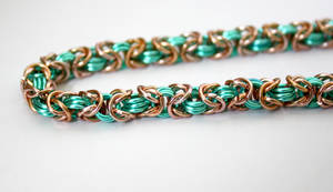 Chainmaille Byzantine Bracelet