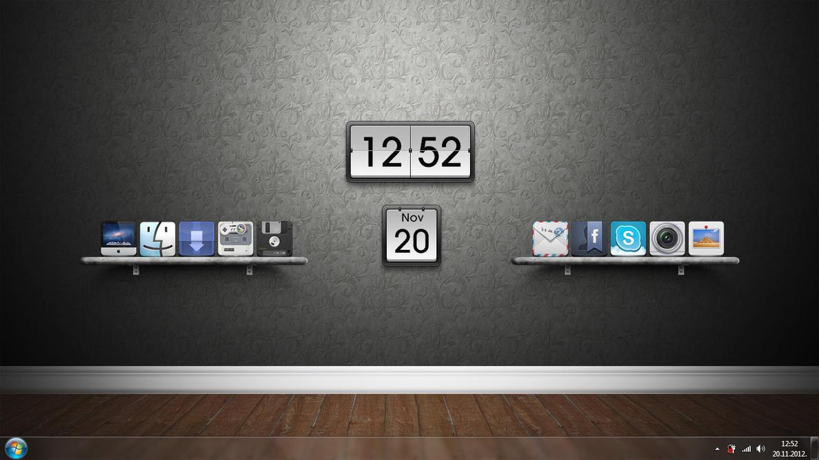 Custom desktop by khorvat-deviantart