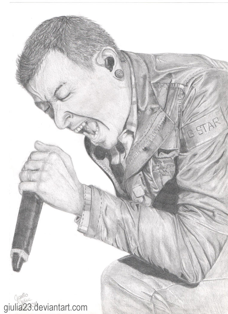 Chester Bennington #2 by giulia23