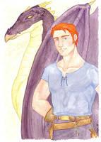 Charlie Weasley by nuriwan