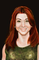 Alyson Hannigan by caetanoneto