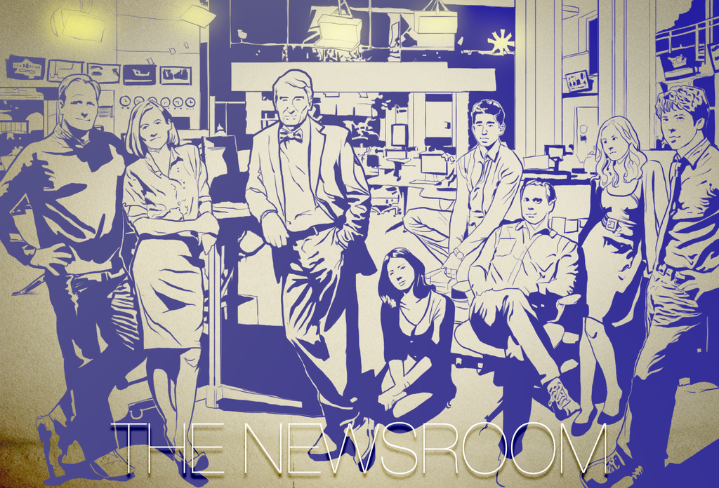 The Newsroom by caetanoneto