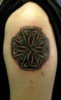 celtic circle cross