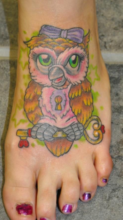 Owl Lock N Key