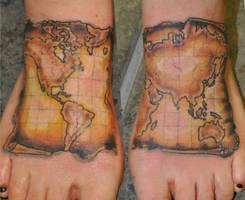 World map by TimeToTakeBack