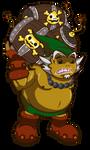 Zelda Item Collab - Powder Keg