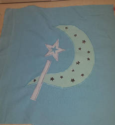 Trixie Lulamoon Apron Top Cutie Mark WIP by AlicornLover