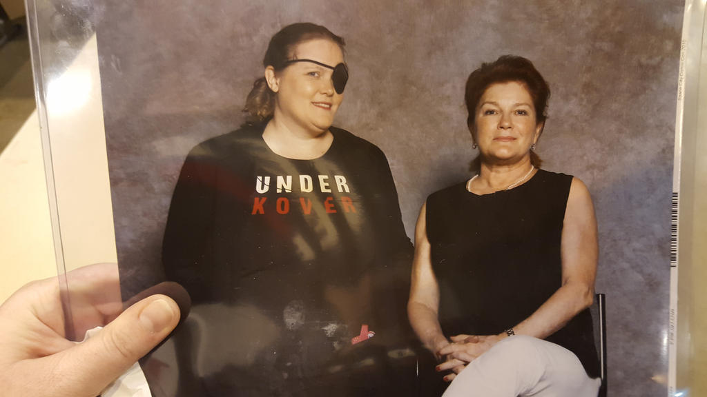 Kate Mulgrew photo op in Kove cosplay by AlicornLover