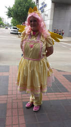 Fluttershy Lolita cosplay by AlicornLover