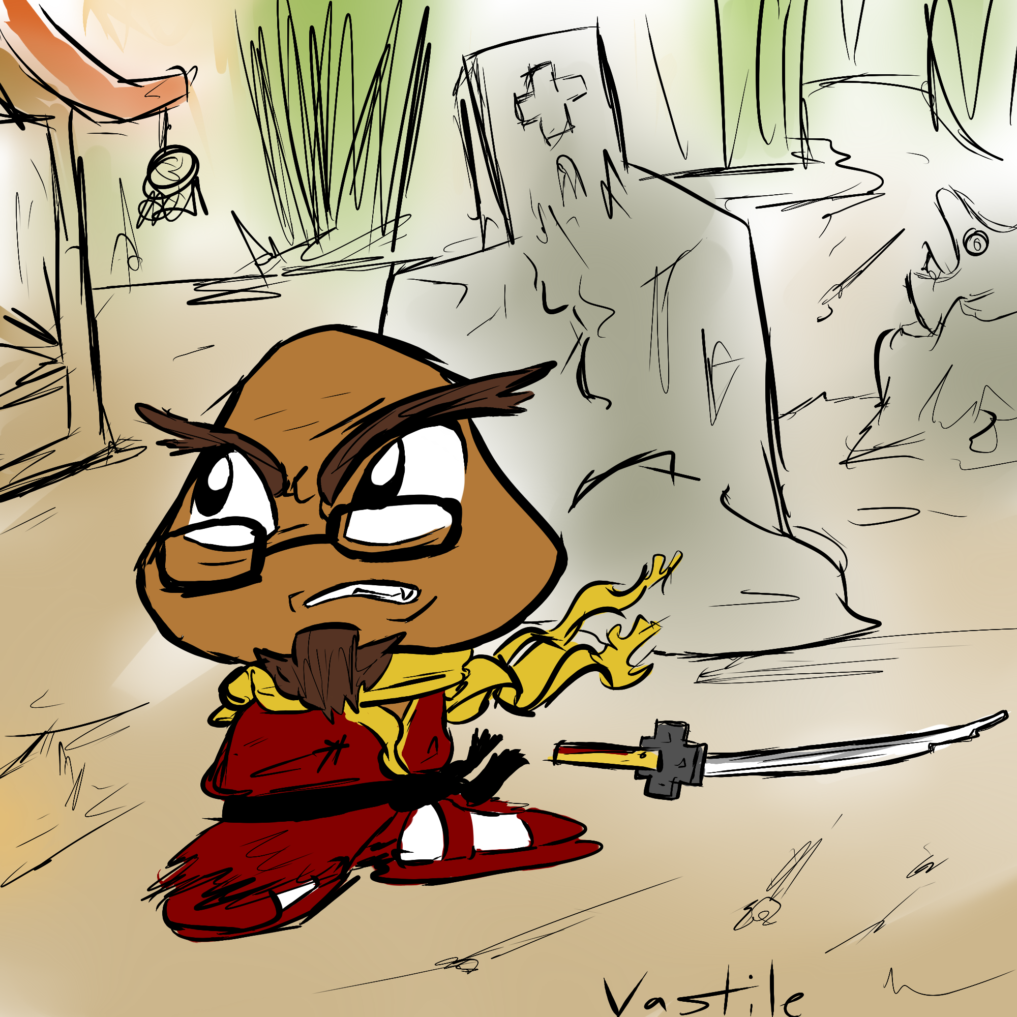 Gaijin Goombah and The Game Shrine by Vastile