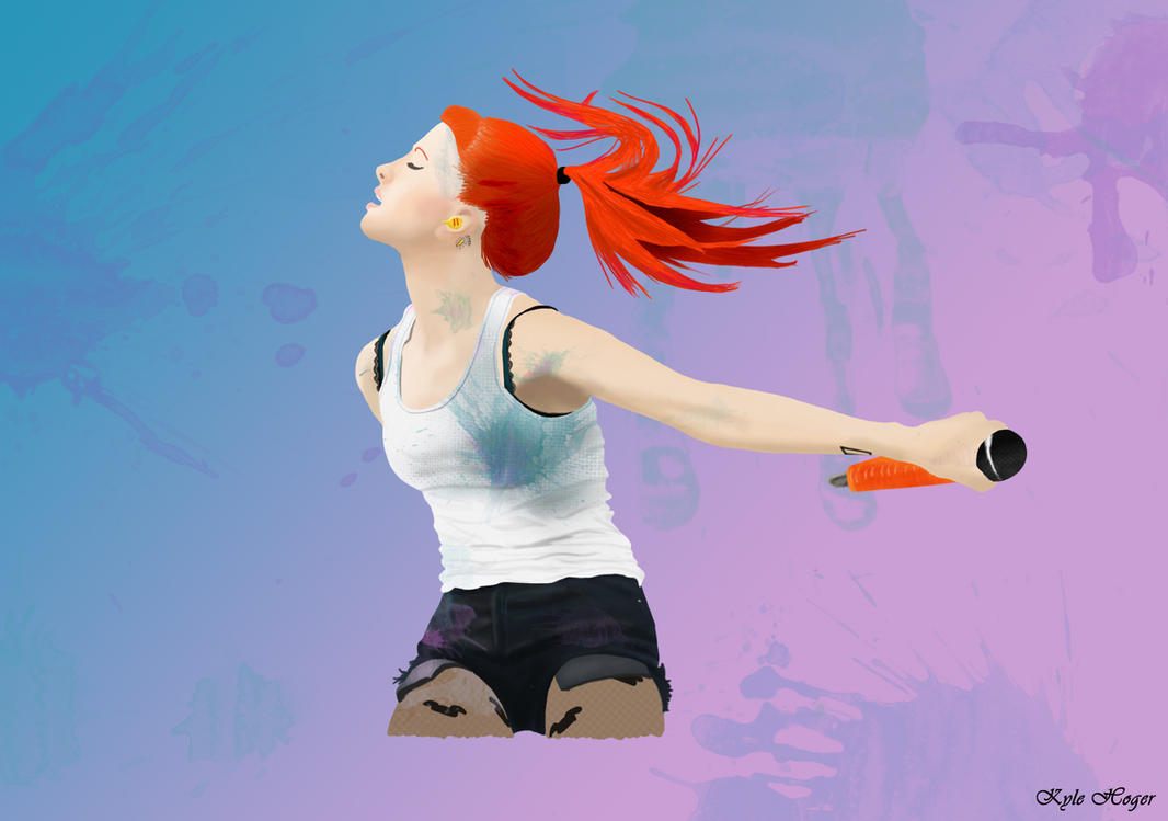 Hayley Williams - In the Moment by KyleStyle26