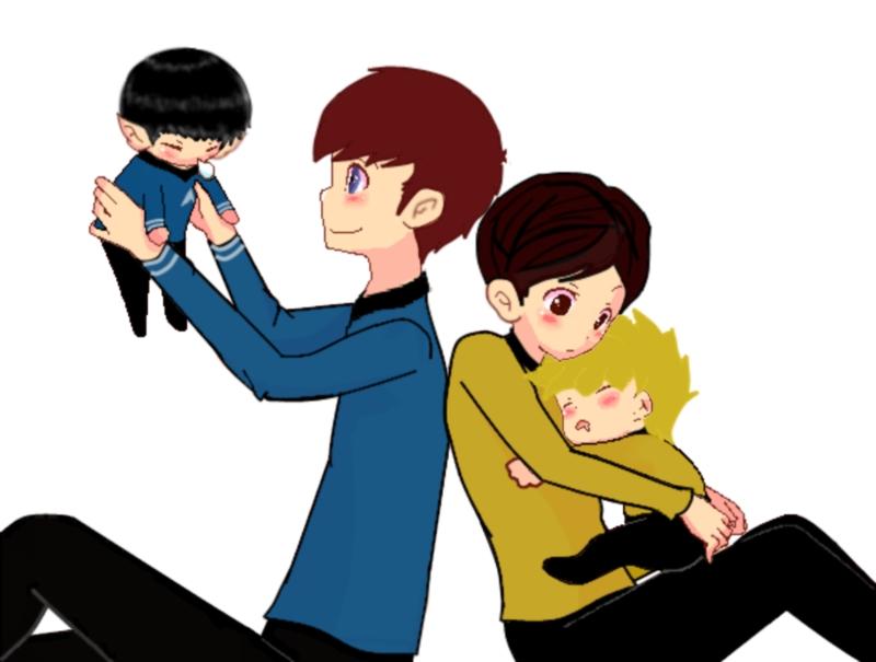 McCoy Babysitting by THEJ0KES0nBATSY
