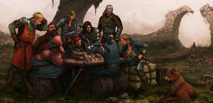 Gwent Players by Iromonik