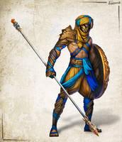 Fantasy character 2 by Iromonik
