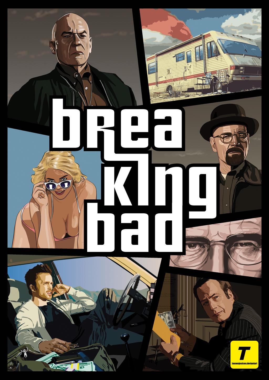 Breaking Bad Gta Poster By Tuonenjoutsen On Deviantart