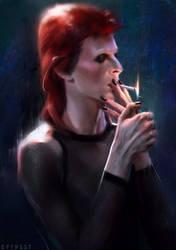 the cigarette by Eftrist