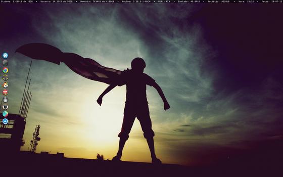 Archlinux Screenshot August 2013